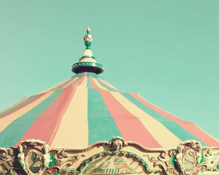 Vintage carousel tent
