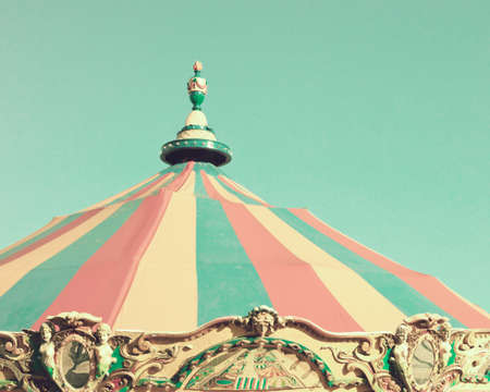 Vintage carousel tent