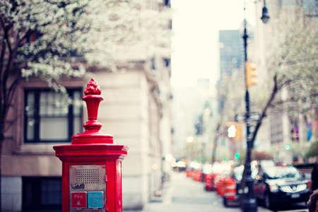 New York City Street 스톡 콘텐츠