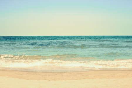 Vintage Summer beach