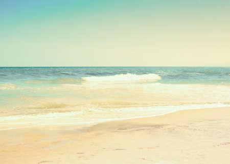 summer beach: Vintage summer beach
