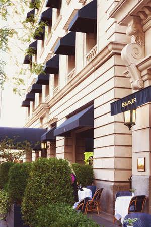 magnificent mile: Elegant Chicago Building in the Magnificent Mile Editorial