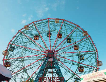 coney: Coney Island Ferris Wheel