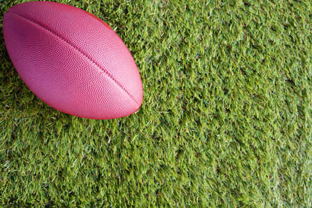 gridiron: Vintage football over grass