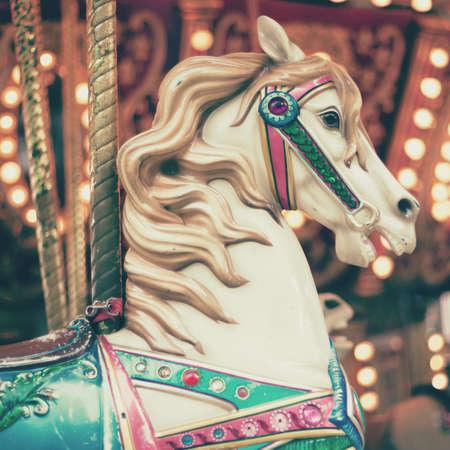 carousel horse: Vintage Carousel Horse