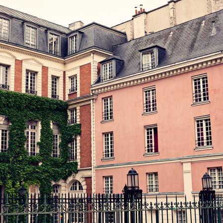 Vintage buildings in Paris Banco de Imagens - 88449159