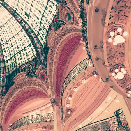 Detail of a Parisian building interior Banco de Imagens - 88449165