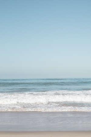 Summer beach in California