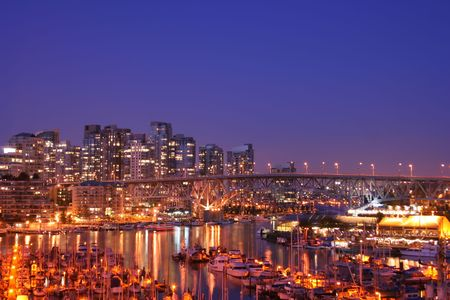 Welcome the City of Vancouver, home of the 2010 Winter Olympics Stock Photo - 2824703