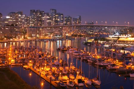 Welcome the City of Vancouver, home of the 2010 Winter Olympics Stock Photo - 2824765