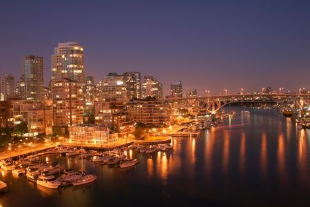Welcome the City of Vancouver, home of the 2010 Winter Olympics Stock Photo - 2824704