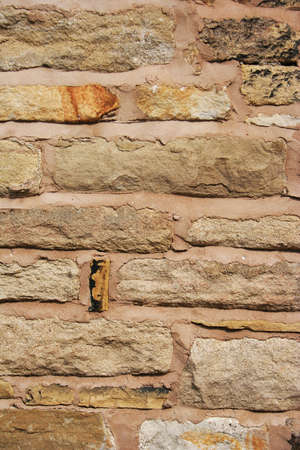 Sandstone wall texture background Stock Photo - 13510282