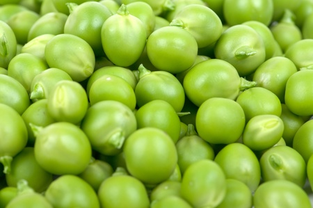 Fresh green peas in a considerable quantity Stock Photo - 10014296