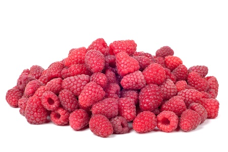 Fresh, sweet, large raspberry as a background