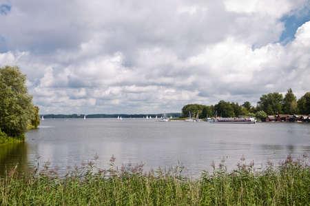 lake landscape near Schwerin , Germany Stock Photo