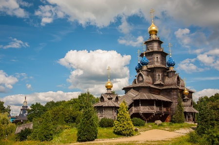 Wooden Russian church in Gifhorn.
