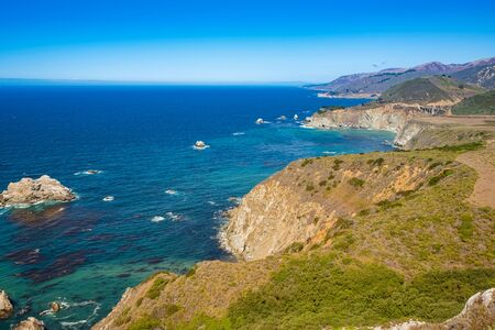 Big Sur is a sparsely populated region of the central California