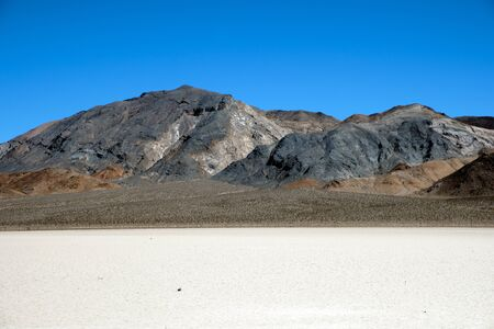 Racetrack valley in the Death Valley National Park
