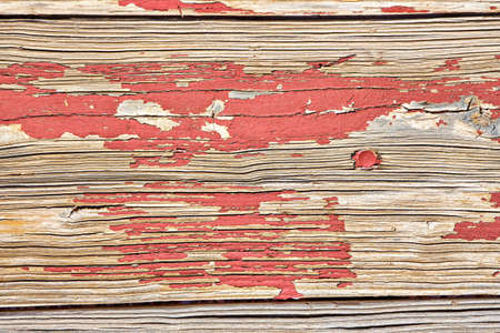 Old, wooden boards with texture as background.