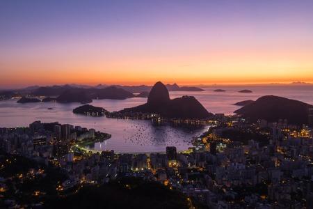 marta: Sunrise Morro Dona Marta, Rio de Janeiro, Brazil