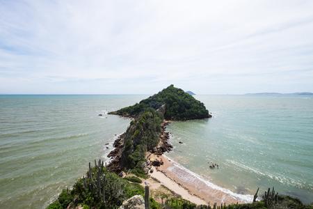 Ponta do Pai vitorio viewpoint in Praia Rasa, Buzios, Brazil Banco de Imagens