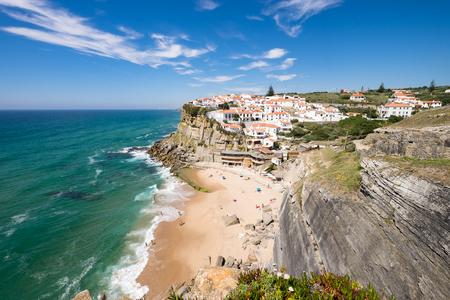The beautiful landscape setting Azenhas do mar, Portugal