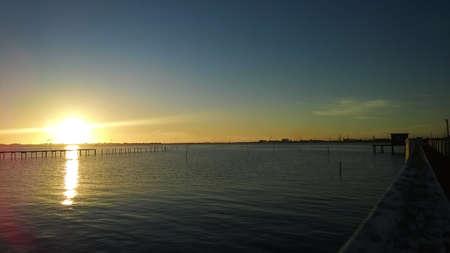 amateur: pier, sunset, pond ducks, Lumia 820, amateur photo, wood pier, harbor