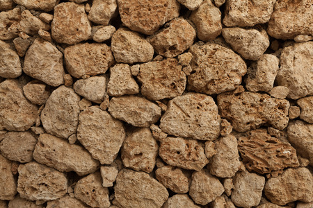 big stone wall background horizontal image close up
