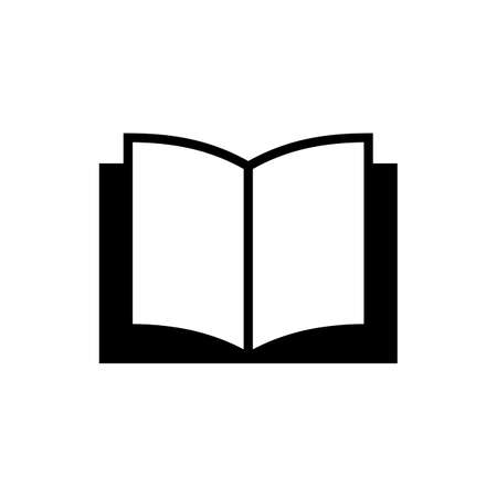 Book icon vector. Book icon isolated Vectores