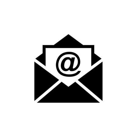 Icône de vecteur de courrier. Icône de courrier électronique. Illustration de l'enveloppe. Un message Vecteurs