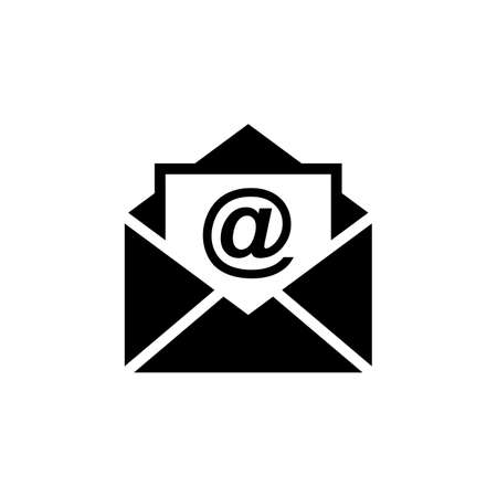 Mail vector icon. E-mail icon. Envelope illustration. Message