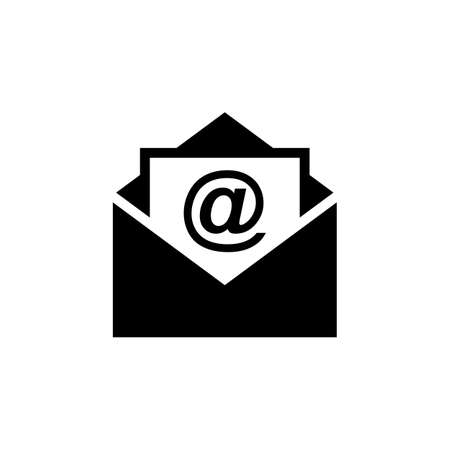 Mail vector icon. E-mail icon. Envelope illustration. Message Foto de archivo - 123158202