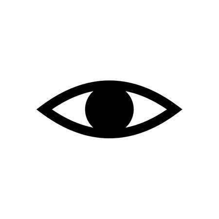 Eye icon vector. Look and Vision icon. Eye vector icon Foto de archivo - 123158243