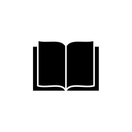 Book icon vector. open book icon vector. ebook icon