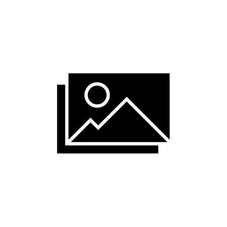 Picture icon vector. photo gallery icon symbol