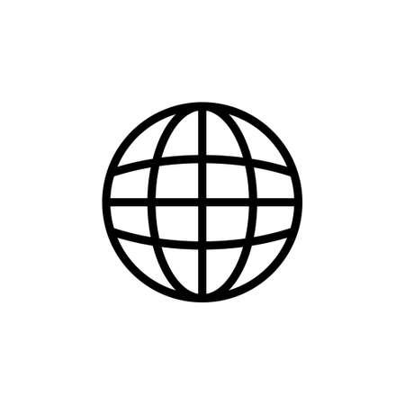 Web icon vector. go to web icon. web click icon