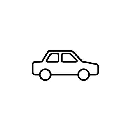 Car icon vector. car vector icon. small sedan