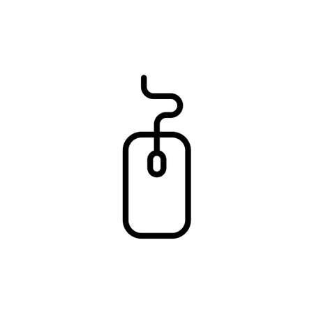 Mouse icon vector. click icon vector. pointer icon vector.