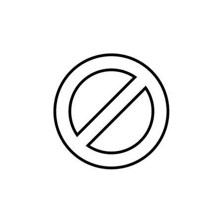 Stop icon vector. stop road sign