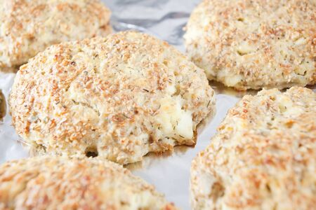 Oat cakes - low in fats and calories , great for loosing weight