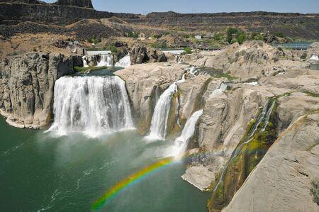 Shoshone Falls on the Snake River near Twin Falls 免版税图像