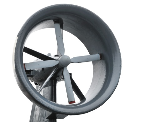 propeller of air cushion assault vehicle