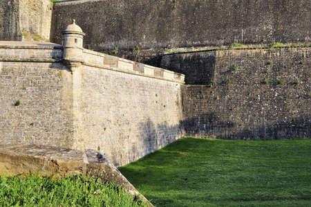 Pamplona (Navarra,Spain) View of fortress of 16 century photo