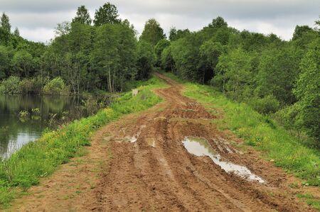 bumpy: old rural bumpy road