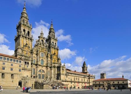 camino: Santiago de Compostela Cathedral - Galicia, Spain