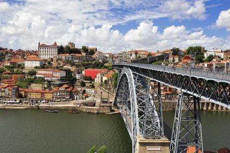 Luis I iron bridge (Porto, Portugal)