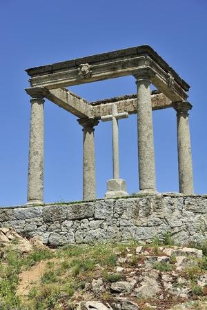 postes: Los Cuatro Postes at Avila (Castile and Leon, Spain)