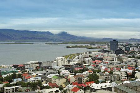 reykjavik: view of Reykjavik from Hallgrimskirkja