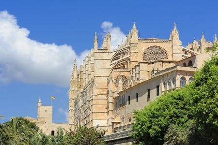The Cathedral of Santa Maria of Palma  La Seu , Majorca, Spain