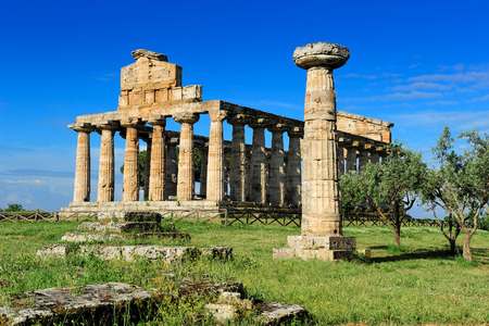 temple of Ceres, Paestum, Italy
